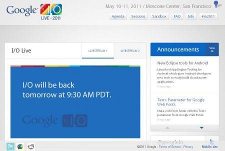 Google I/O Conference: arriva Google Music Beta (ufficiale)