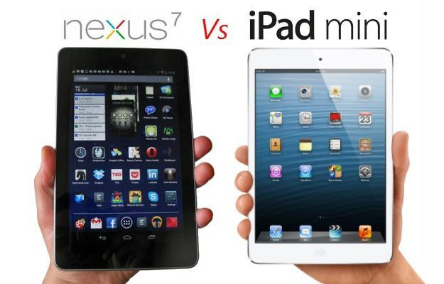 Google Nexus 7 vs iPad mini, confronto tra piccoli titani [VIDEO]