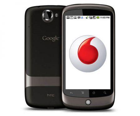 Google Nexus One: prezzi e tariffe con Vodafone