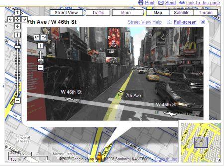Grazie a Google Street View americano viene derubato