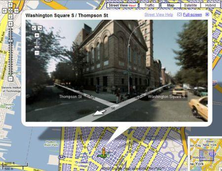 Google Street View: navigazione con immagini reali senza ricevitore GPS