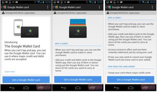 Google Wallet Card, arriva la carta di credito della Grande G