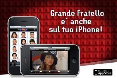 Apple iPhone: il Grande Fratello 10 sull'iPhone e iPod Touch