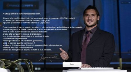 Hacker e Totti