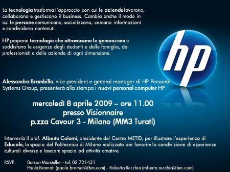 Notebook HP: presentazione dei nuovi prodotti
