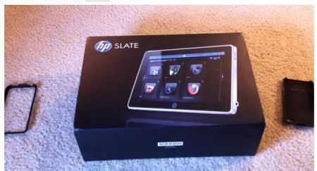 HP Slate con Windows 7 in Video