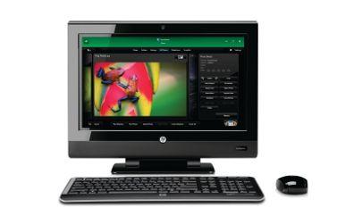 HP TouchSmart 310 e tm2: computer touchscreen per la multimedialità
