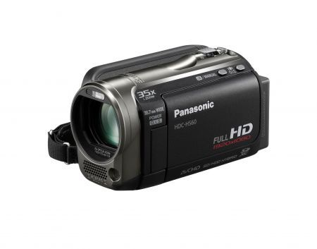 Panasonic HDC-HS60: videocamera Full HD che registra su hard disk e memory card