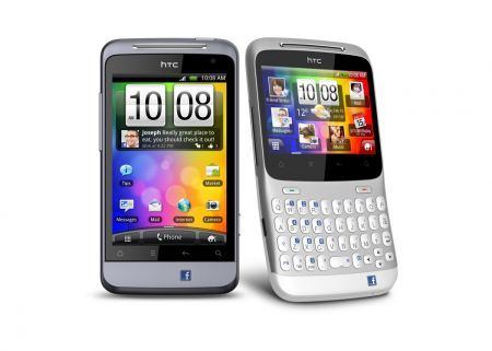 HTC Salsa e HTC ChaCha: Facebook phone con Android 2.4 Gingerbread