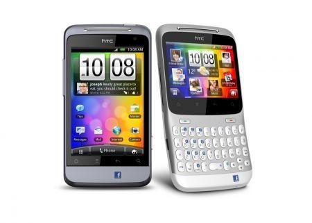HTC Salsa e HTC ChaCha