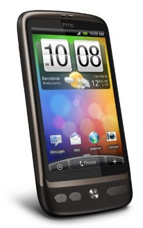 HTC Desire con Android 2.3 Gingerbread per Aprile 2011?