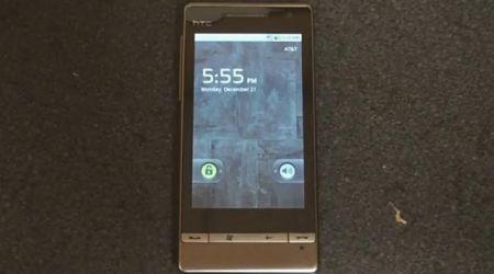 HTC Diamond e HTC Diamond 2 con Android 2.0.1