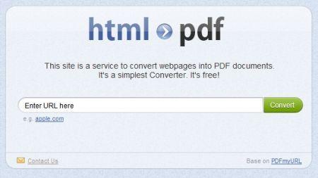 HTML to PDF Converter: ottenere un file PDF da una pagina HTML