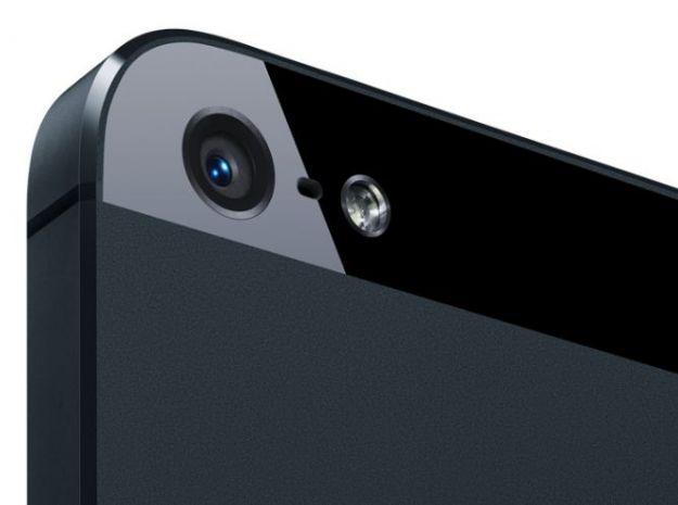 iPhone 5 particolare fotocamera