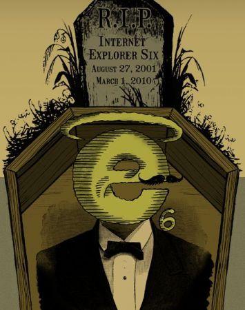 Internet Explorer 6 è morto a Marzo 2010: Microsoft manda dei fiori