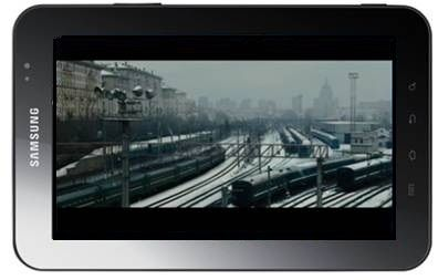Samsung Galaxy Tab: film in HD con Samsung Movie Store