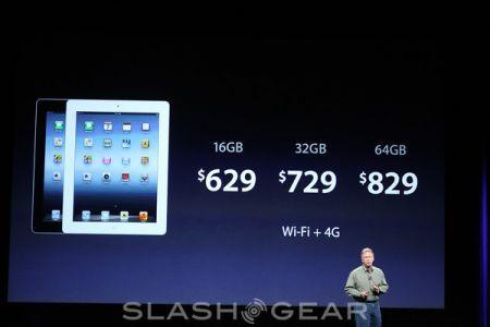Nuovo iPad, prezzi ufficiali di tutte le versioni
