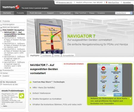 In prevendita TomTom Navigator 7