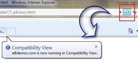 Internet Explorer 8 non è compatibile con il sito Microsoft.com
