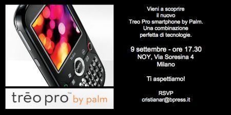 Arriva lo Smartphone Treo Pro
