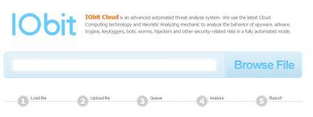 IObit Cloud: analizzare i propri file direttamente online