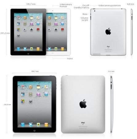 iPad 2 contro iPad: Tablet Apple a confronto