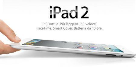 iPad 2: i prezzi ufficiali in Italia da Apple (€479,00 Wi-Fi)
