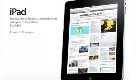 Apple iPad 3G Wi-Fi: indiscrezioni sulle tariffe di TIM