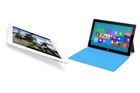 Microsoft Surface contro Nuovo iPad, confronto tra colossi [FOTO]