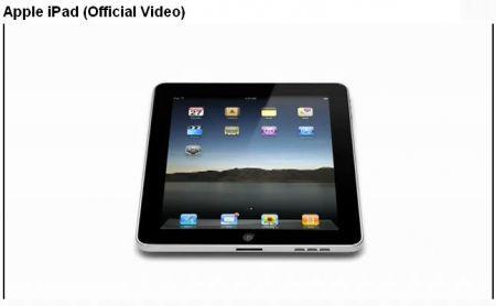 iPad di Apple in un video ufficiale