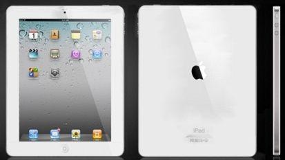 iPad 2 di bianco vestito