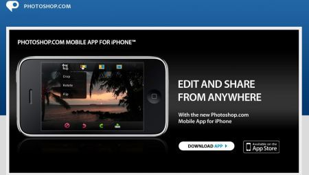 iPhone 3GS: Photoshop su internet per lo smartphone Apple