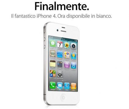 iPhone 4 bianco: Apple annuncia disponibilità (Comunicato Ufficiale)