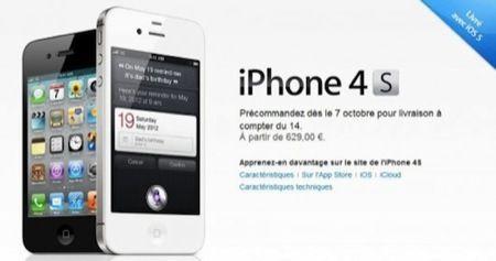 iPhone 4S, i prezzi previsti per l'Europa e per l'Italia