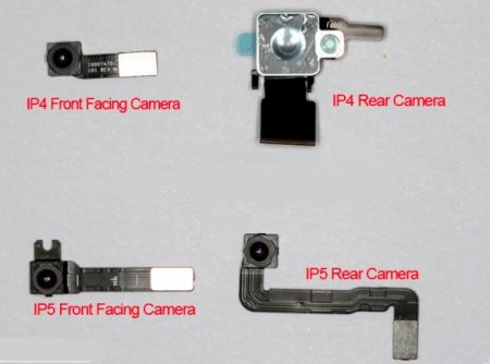 iPhone 5 fotocamera sensore