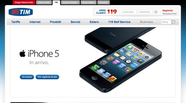 iphone 5 tim