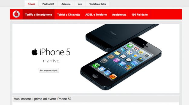 iphone 5 vodafone