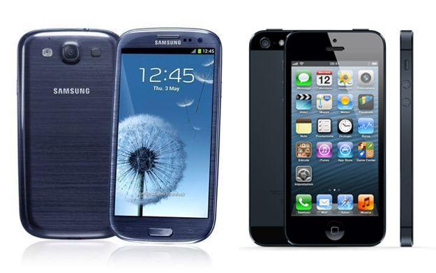 iPhone 5 vs Samsung Galaxy S3: confronto, qual è il migliore?