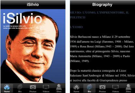 Berlusconi su iPhone: iSilvio per dispositivi Apple