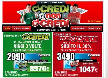Media World lancia la promozione legata ai Mondiali di Calcio fino al 15 maggio 2010