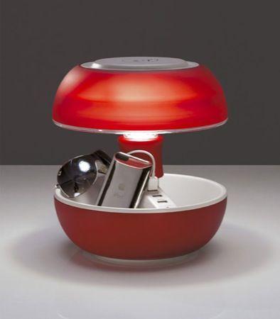 Lampada da tavolo Joyo: arredamento alla moda e dock di ricarica USB per un Natale tecnologico