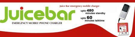 Juicebar: ricarica tutti i cellulari senza più carica elettrica