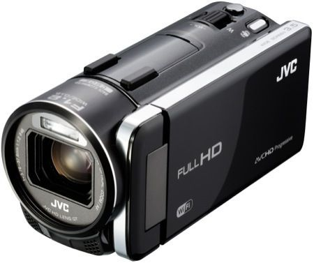 JVC Everio, videocamere in diretta wireless con il computer