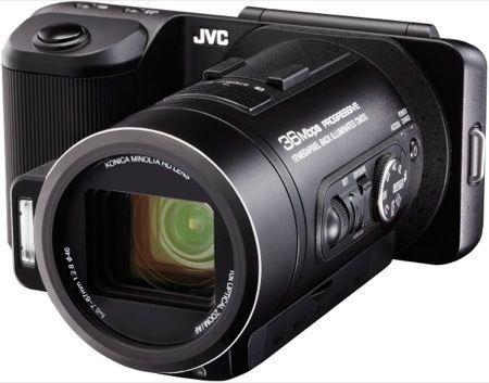 JVC GC-PX10, foto e video ad altissima risoluzione