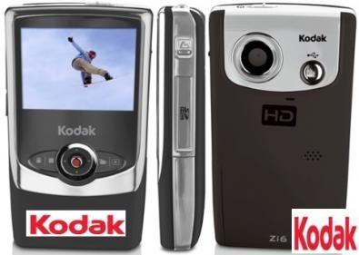 Kodak zi6 hd videocamera ad alta definizione tecnozoom for Definizione camera