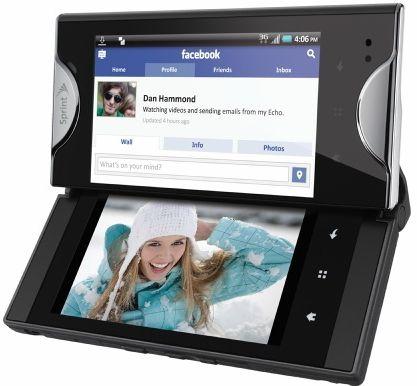 Kyocera Echo: smartphone Android dual touchscreen in arrivo negli Usa