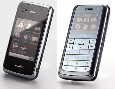 Leap K1: GPS e Smartphone secondo Mio