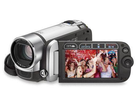 Canon Flash Legria FS20: videocamera che registra per 3 ore consecutive come idea natale