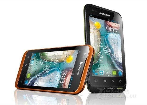 Lenovo A660: smartphone Android dual SIM a prova d'acqua