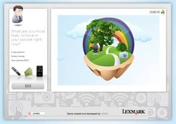 lexmark Workspace Wizard